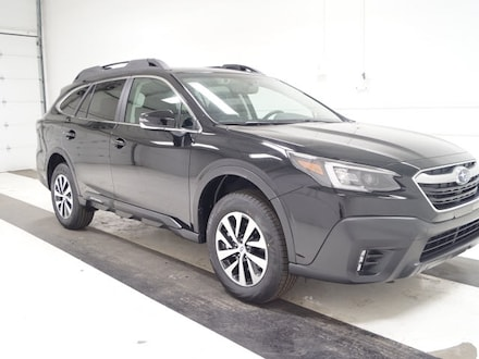 Featured new 2020 Subaru Outback Premium SUV for sale in Topeka, KS
