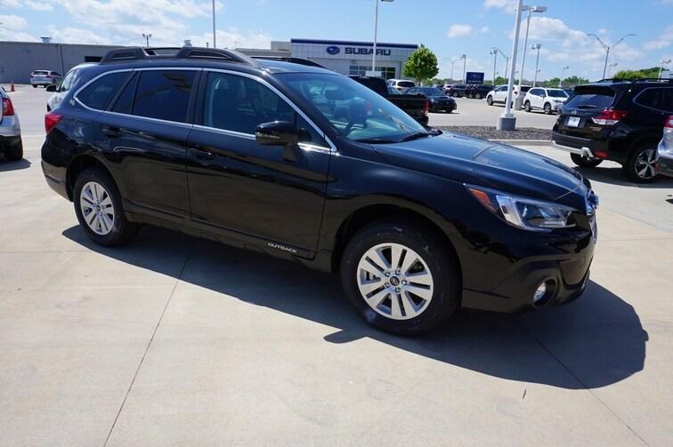 New 2019 Subaru Outback 2.5i Premium SUV for sale in Topeka, KS at Briggs Subaru of Topeka