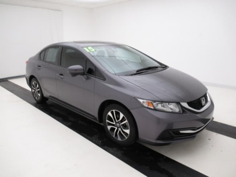 2015 Honda Civic Sedan CVT EX Sedan