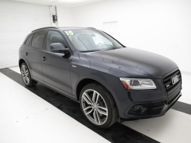 Used 2015 Audi SQ5 Quattro  3.0T Premium Plus SUV for sale in Topeka, KS at Briggs Subaru of Topeka
