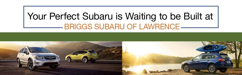 Build Your Own Subaru >> Build Your Own Subaru Briggs Subaru Of Lawrence