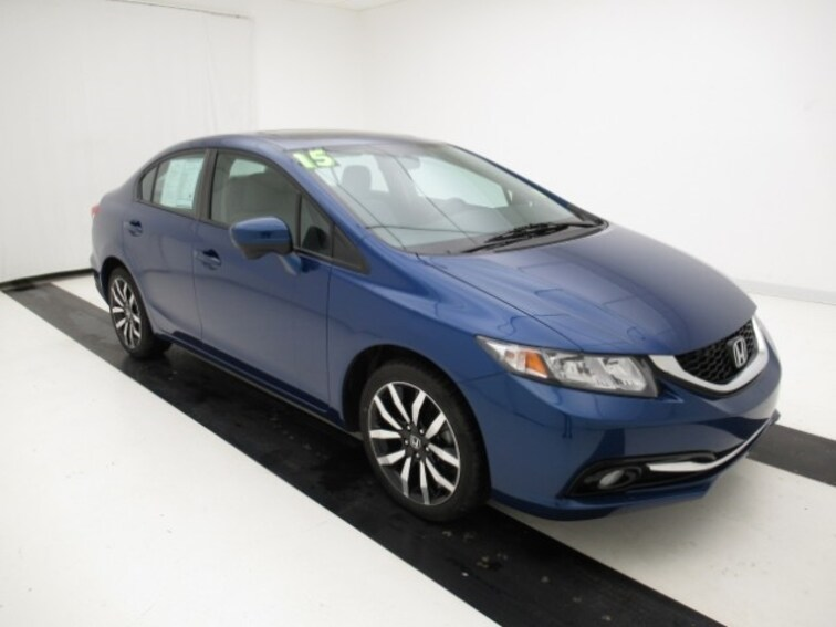 2015 Honda Civic Sedan CVT EX-L Sedan