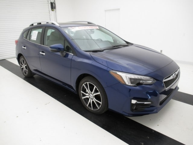 2018 Subaru Impreza 2.0i Limited with EyeSight, Moonroof, Navigation, Blind Spot Detection & Starlink 5-door