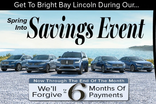 Spring Savings at Bright Bay Lincoln