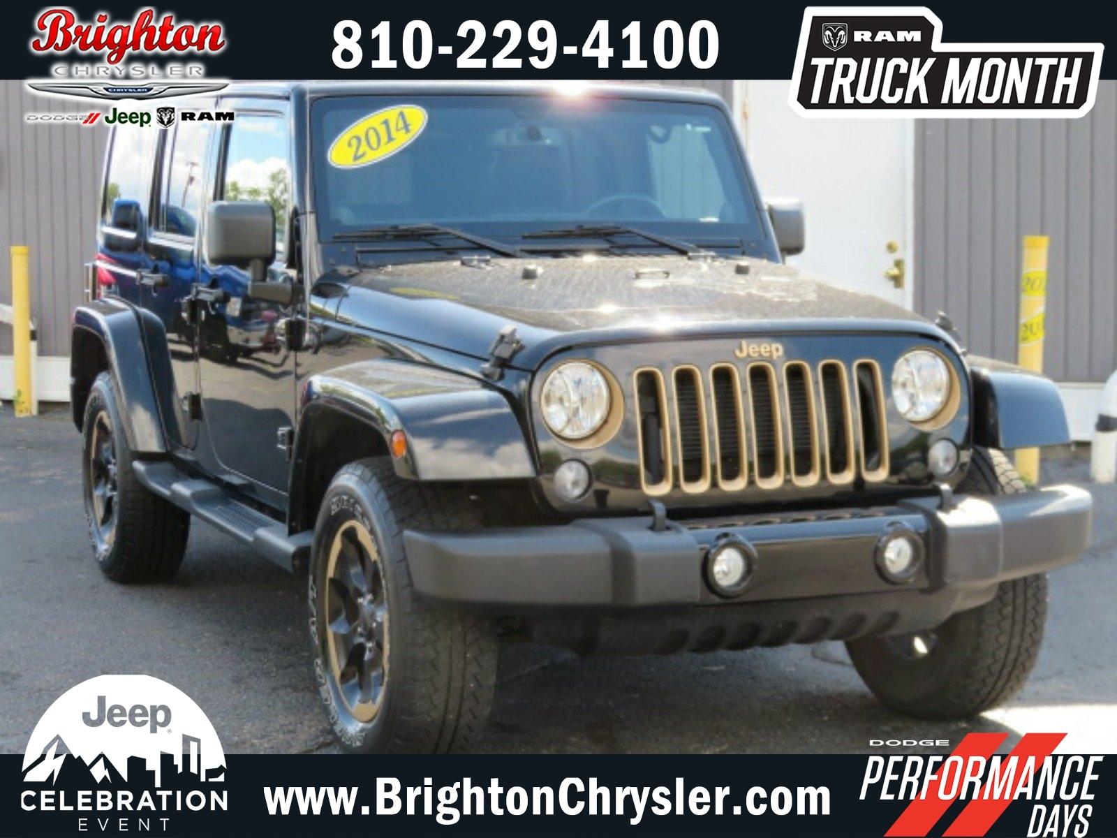 2014 Jeep Wrangler Unlimited Dragon Edition 4WD  Dragon Edition *Ltd Avail*