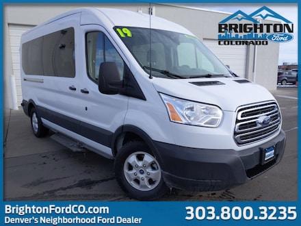 2019 Ford Transit Passenger Wagon XLT Wagon Medium Roof Passenger Van