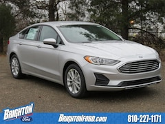New 2019 Ford Fusion SE Sedan 3FA6P0HD1KR131833 for Sale in Brighton, MI