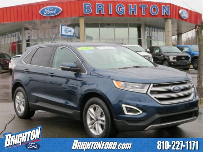Used 2017 Ford Edge SEL SUV Brighton, MI