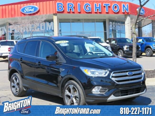 Used 2017 Ford Escape SE SUV Brighton, MI
