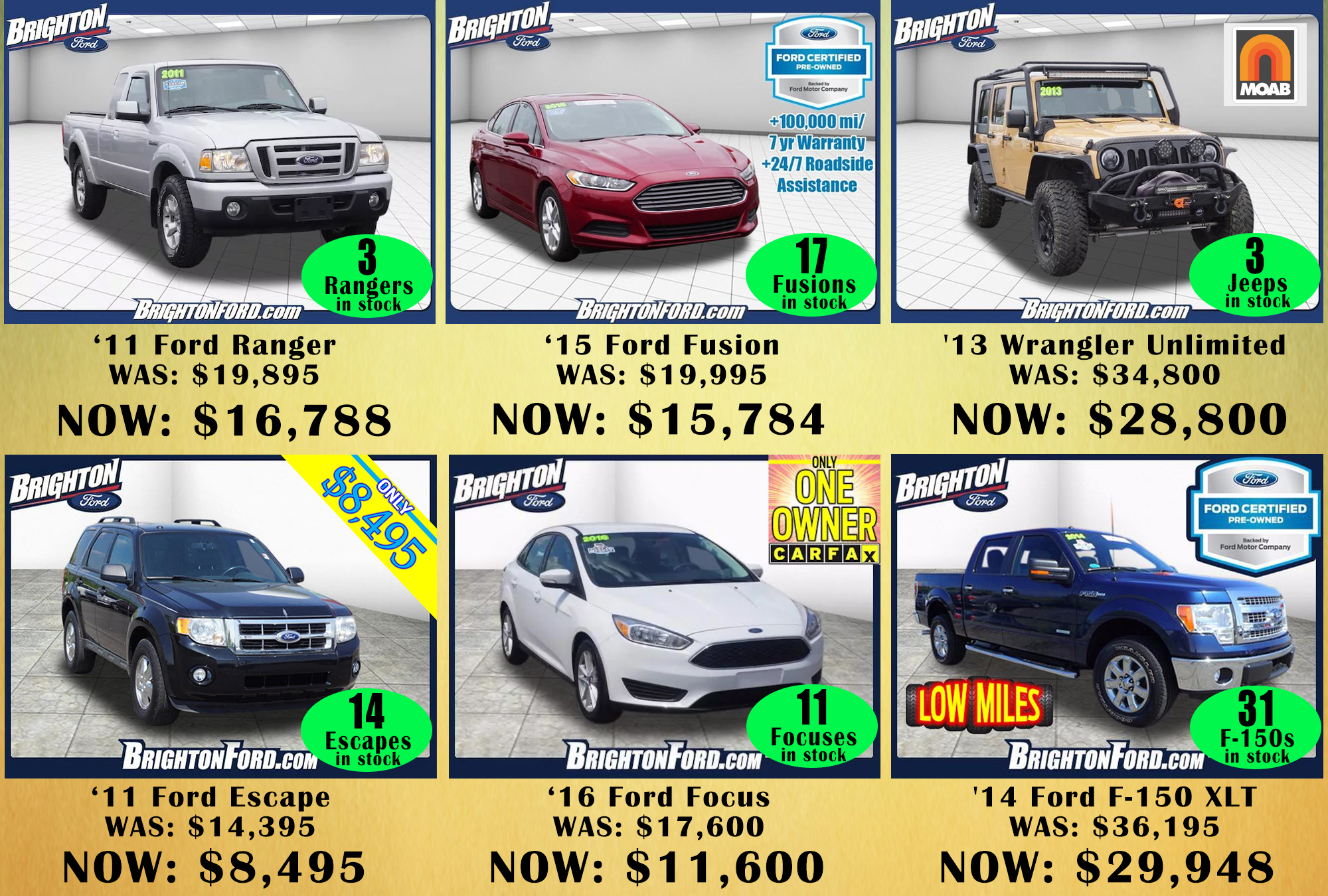Additional 6 000 Off Used Cars At Our Black Friday Sale Brighton Ford