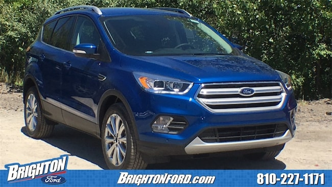 New 2018 Ford Escape Titanium SUV For Sale/Lease Brighton, MI