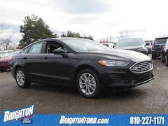 New 2019 Ford Fusion SE Sedan 3FA6P0HD6KR169266 for Sale in Brighton, MI
