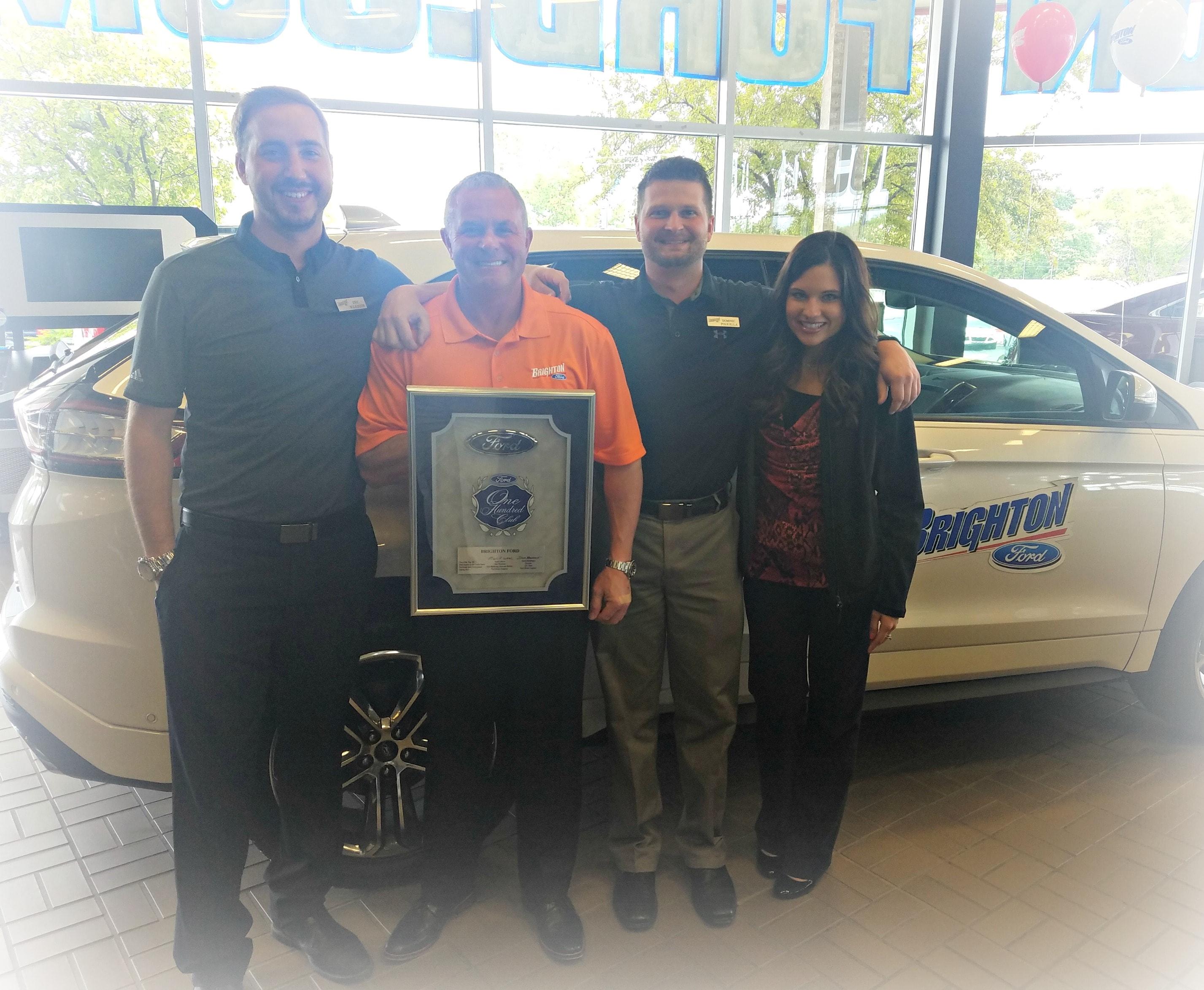Brighton Ford | Brighton Ford Wins Top 100 Ford Dealer in America ...