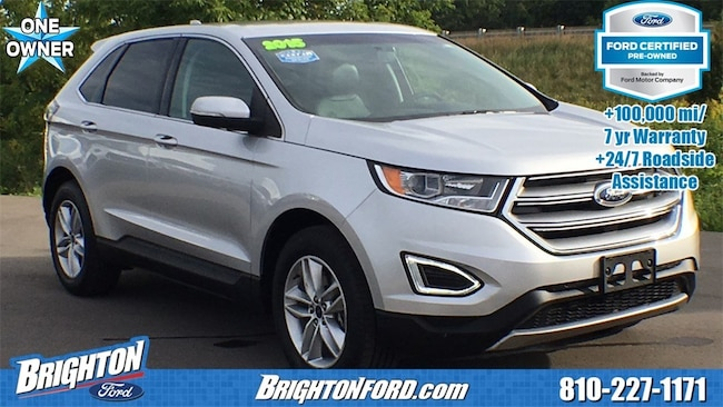 Used 2015 Ford Edge SEL SUV Brighton, MI