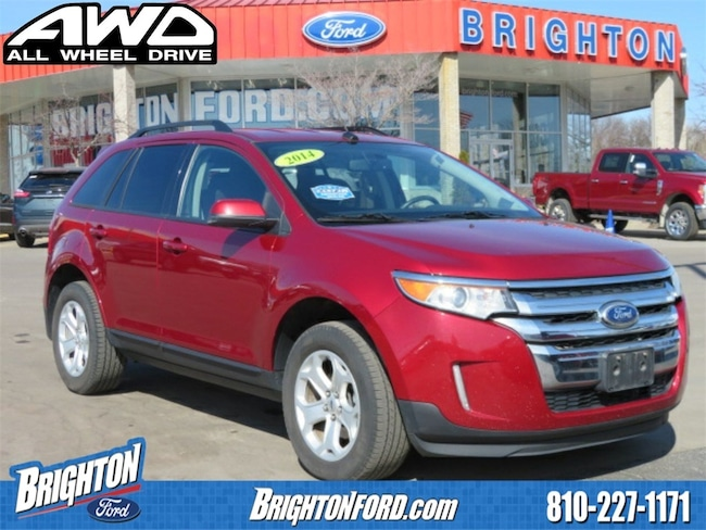 Used 2014 Ford Edge SEL SUV Brighton, MI