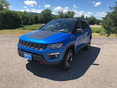 New 2018 Jeep Compass TRAILHAWK 4X4 Sport Utility 3C4NJDDB5JT345955 for sale in Rutland, VT at Brileya's Chrysler Jeep