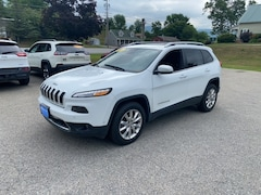 Used 2016 Jeep Cherokee Limited SUV 1C4PJMDS7GW312757 for Sale in Rutland, VT at Brileya's Chrysler Jeep