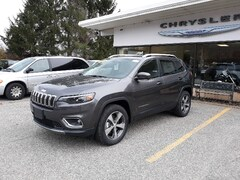 New 2020 Jeep Cherokee LIMITED 4X4 Sport Utility 1C4PJMDX0LD524594 for sale in Rutland, VT at Brileya's Chrysler Jeep