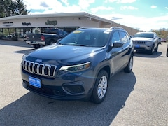 2021 Jeep Cherokee LATITUDE 4X4 Sport Utility for Sale in Rutland, VT at Brileya's Chrysler Jeep
