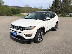 New 2018 Jeep Compass LIMITED 4X4 Sport Utility 3C4NJDCB9JT365949 for sale in Rutland, VT at Brileya's Chrysler Jeep