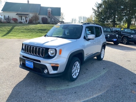 Featured New 2020 Jeep Renegade LATITUDE 4X4 Sport Utility for sale in Rutland, VT at Brileya's Chrysler Jeep