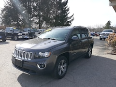 Used 2017 Jeep Compass High Altitude SUV 1C4NJDEB9HD111106 for Sale in Rutland, VT at Brileya's Chrysler Jeep