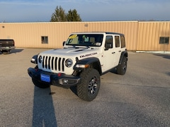 New 2020 Jeep Wrangler UNLIMITED RUBICON 4X4 Sport Utility 1C4HJXFN0LW242932 for sale in Rutland, VT at Brileya's Chrysler Jeep