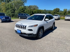Used 2018 Jeep Cherokee Limited SUV 1C4PJMDX8JD515283 for Sale in Rutland, VT at Brileya's Chrysler Jeep