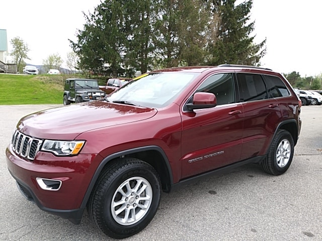 Featured Pre-Owned 2018 Jeep Grand Cherokee Laredo E SUV for sale in Rutland, VT at Brileya's Chrysler Jeep