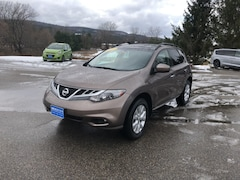 Used 2012 Nissan Murano S SUV for sale in Rutland, VT at Brileya's Chrysler Jeep
