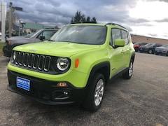 New 2018 Jeep Renegade LATITUDE 4X4 Sport Utility ZACCJBBB4JPJ13673 for sale in Rutland, VT at Brileya's Chrysler Jeep