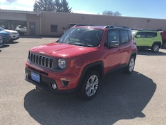 New 2019 Jeep Renegade LIMITED 4X4 Sport Utility ZACNJBD13KPK05422 for sale in Rutland, VT at Brileya's Chrysler Jeep