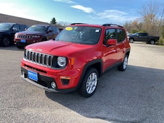 New 2020 Jeep Renegade LATITUDE 4X4 Sport Utility ZACNJBBB9LPM04651 for sale in Rutland, VT at Brileya's Chrysler Jeep