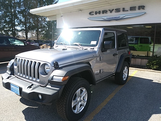 Featured New 2019 Jeep Wrangler SPORT S 4X4 Sport Utility for sale in Rutland, VT at Brileya's Chrysler Jeep