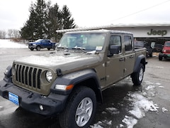 New 2020 Jeep Gladiator SPORT S 4X4 Crew Cab for sale in Rutland, VT at Brileya's Chrysler Jeep