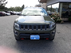 Used 2018 Jeep Compass Trailhawk SUV 3C4NJDDB1JT144845 for Sale in Rutland, VT at Brileya's Chrysler Jeep