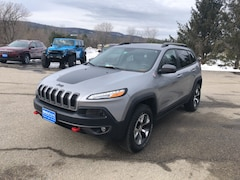 Used 2016 Jeep Cherokee Trailhawk SUV 1C4PJMBS4GW124183 for Sale in Rutland, VT at Brileya's Chrysler Jeep