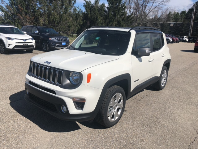 Jeep Renegade Limited >> New 2019 Jeep Renegade Limited 4x4 For Sale Near Stowe And Manchester Vt Stock 7966
