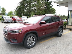 New 2019 Jeep Cherokee LATITUDE PLUS 4X4 Sport Utility for sale in Rutland, VT at Brileya's Chrysler Jeep