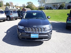 Used 2015 Jeep Compass High Altitude Edition SUV 1C4NJDEB1FD333734 for Sale in Rutland, VT at Brileya's Chrysler Jeep