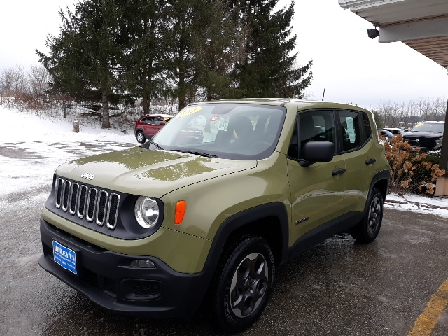 Featured Pre-Owned 2015 Jeep Renegade Sport SUV for sale in Rutland, VT at Brileya's Chrysler Jeep