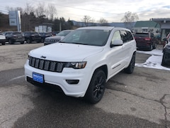 New 2019 Jeep Grand Cherokee ALTITUDE 4X4 Sport Utility 1C4RJFAG4KC592149 for sale in Rutland, VT at Brileya's Chrysler Jeep