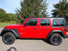 2020 Jeep Wrangler UNLIMITED SPORT 4X4 Sport Utility for Sale in Rutland, VT at Brileya's Chrysler Jeep