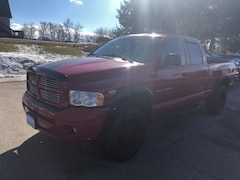 Used 2005 Dodge Ram 1500 ST Truck Quad Cab 1D7HU18DX5S178889 for sale in Rutland, VT at Brileya's Chrysler Jeep