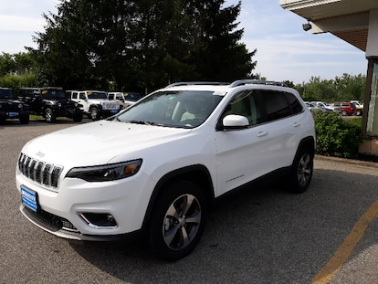 New 2019 Jeep Cherokee Limited 4x4 For Sale Near Stowe And