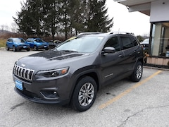 New 2020 Jeep Cherokee LATITUDE PLUS 4X4 Sport Utility 1C4PJMLB2LD586911 for sale in Rutland, VT at Brileya's Chrysler Jeep