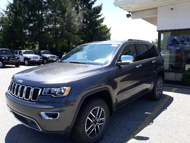 New 2019 Jeep Grand Cherokee Limited 4x4 For Sale Near Stowe And