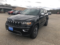 New 2019 Jeep Grand Cherokee LIMITED 4X4 Sport Utility 1C4RJFBG6KC538057 for sale in Rutland, VT at Brileya's Chrysler Jeep