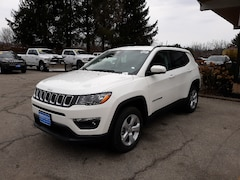 New 2020 Jeep Compass LATITUDE 4X4 Sport Utility 3C4NJDBB0LT168706 for sale in Rutland, VT at Brileya's Chrysler Jeep