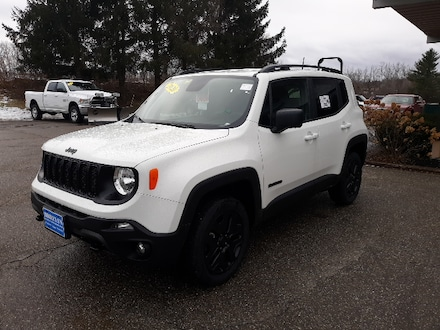 Featured New 2020 Jeep Renegade UPLAND 4X4 Sport Utility for sale in Rutland, VT at Brileya's Chrysler Jeep